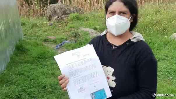 Chota: Presidenta de mesa desmiente a FP y asegura que acta sí lleva su firma - El Búho.pe