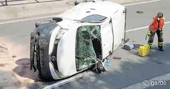 A560 Siegburg/Hennef: Unfall mit drei Fahrzeugen und drei Verletzten - General-Anzeiger Bonn