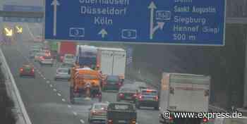NRW: A3 zwischen Bonn/Siegburg und Lohmar voll gesperrt - Express.de