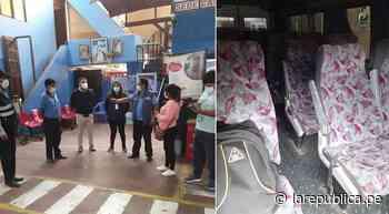 Arequipa: empresas de transporte en Camaná no respetan medidas sanitarias - LaRepública.pe