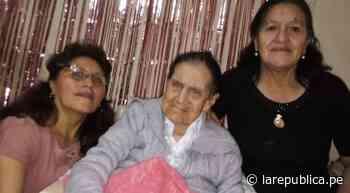 Chiclayo: abuela de 28 bisnietos llegó a los 100 años de vida - LaRepública.pe