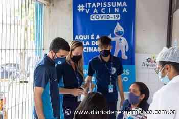 Itapissuma inicia vacinação contra Covid-19 para novos grupos - Diário de Pernambuco