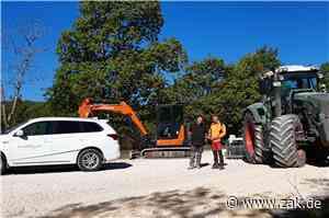 Der Forst sorgt am Lochenstein für Klimaschutz und Wohlergehen der Gäste - Zollern-Alb-Kurier
