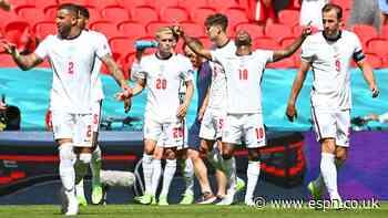 England open Euro 2020 with win vs. Croatia