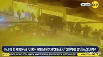 San Miguel: policías y serenos intervienen a más de 30 personas en una fiesta clandestina [VIDEO] - RPP Noticias