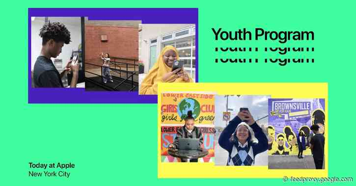 Today at Apple Youth Program sparks the creative energy of New York City artists