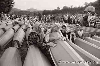 Reportaje Justicia para las víctimas de la matanza de Srebrenica - Amnistía Internacional España