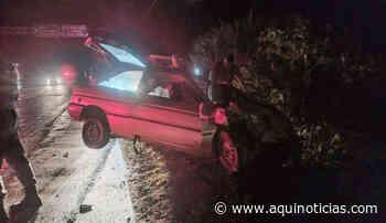 Acidente com dois carros e um caminhão deixa vítima fatal em Alegre - Aqui Notícias - www.aquinoticias.com