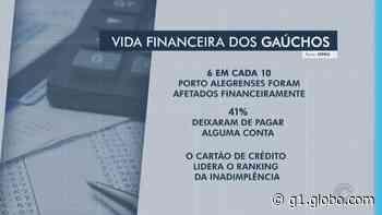 Pesquisa aponta que 6 em cada 10 moradores de Porto Alegre tiveram problemas financeiros na pandemia - G1