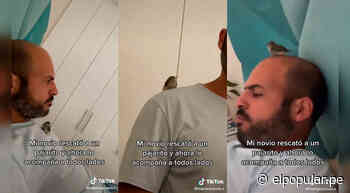 TikTok viral: hombre que rescató a un pajarito se convirtió en su amigo incondicional | ElPopular.pe - El Popular