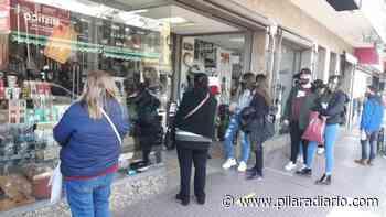 Así está el centro de Pilar en el primer día de reaperturas - Pilar a Diario