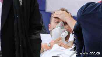 Christian Eriksen in stable condition following health scare at Euro 2020