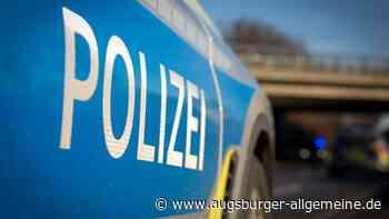 Schwerer Verkehrsunfall mit einem Motorrad in Augsburg