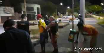 Guarda Municipal e PM dispersam aglomeração com 500 pessoas em Montes Claros - G1