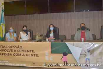 Campanha contra o Trabalho Infantil é lançada em Montes Claros - Prefeitura de Montes Claros
