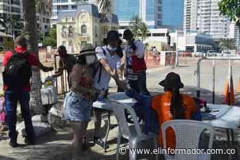 Fotos de la Bahía de Santa Marta este sábado - El Informador - Santa Marta