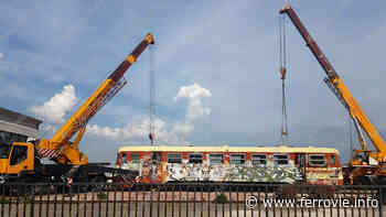 Ferrovie: Trasferita la M2.206 da Potenza a Matera [VIDEO] - Ferrovie.info