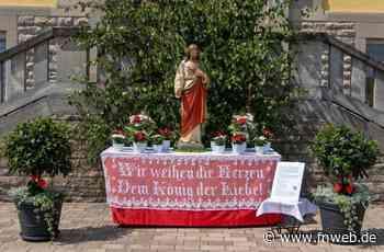 Schlierstadt: Vier Altäre zu Fronleichnam aufgebaut - Fränkische Nachrichten