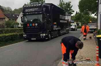 Leitpfosten sollen Verkehr in Bofsheim verlangsamen - Fränkische Nachrichten