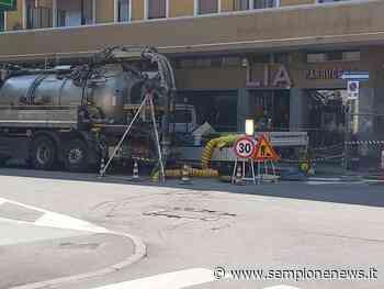 Disagi in corso Magenta per l'intervento di pulizia delle acque reflue   Sempione News - Sempione News