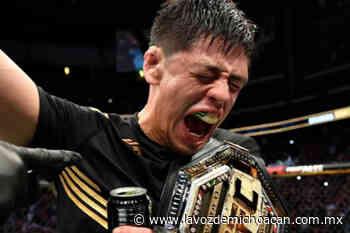 ¡Viva México wey! Así grita Brandon Moreno tras proclamarse campeón en la UFC - La Voz de Michoacán