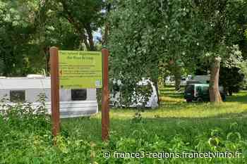 Cagnes-sur-Mer : une association s'inquiète de la présence des gens du voyage à côté d'une station d'eau potab - France 3 Régions