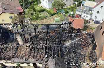 Lauf a.d. Pegnitz: Massiver Schaden bei Feuer - Brand breitet sich rasend schnell aus - inFranken.de