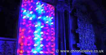 LIGHT the amazing immersive art installation illuminating Durham Cathedral