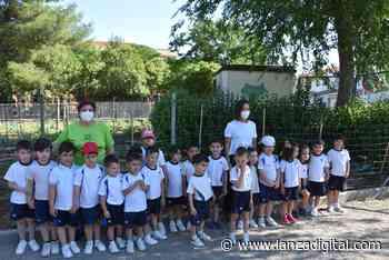 El alumnado del colegio de la Merced visita 'el huerto del abuelo' de Miguelturra - Lanza Digital - Lanza Digital