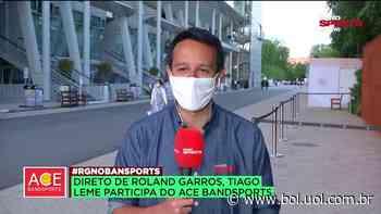 """Tiago Leme: """"É o jogo mais esperado do torneio"""" - Bol - Uol"""