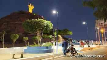 Praça do Morro do Leme ganha iluminação de LED em Oeiras - Blog das Cidades - Cidadeverde.com