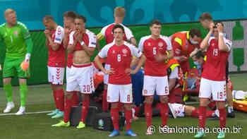 Eriksen, da Dinamarca, cai desacordado no gramado em jogo da Eurocopa - Tem Londrina