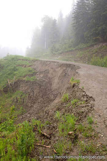 Road slump repair at Valemount Bike Park underway thanks to partners - The Rocky Mountain Goat