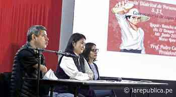 Elecciones 2021: JEE de Cajamarca rechazó recurso de Fuerza Popular para nulidad de actas - LaRepública.pe