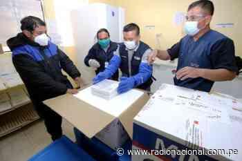 Cajamarca recibe más de 96 000 vacunas contra la covid-19 para mayores de 60 años - Radio Nacional del Perú