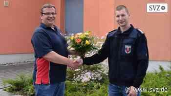 Freiwillige Feuerwehr Warin: Timo Untrieser leitet Wehr jetzt amtierend | svz.de - svz.de