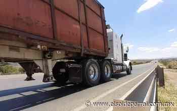 Sufre deterioro puente de carretera a Santa Bárbara - El Sol de Parral