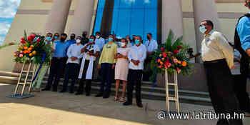 Inauguran sede judicial en Quimistán, Santa Bárbara - La Tribuna.hn