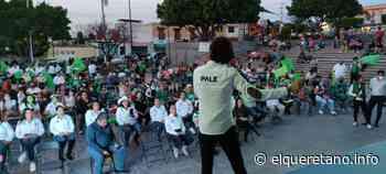 Pale Borbolla cierra campaña en Santa Bárbara - El Queretano