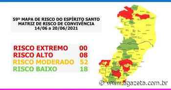 Covid-19: Vila Velha sai do risco alto e Domingos Martins entra em alerta - A Gazeta ES