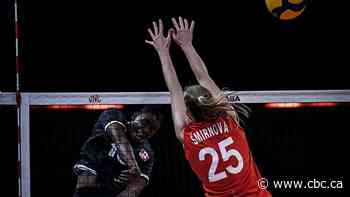Canada's reserve women's volleyball players gain experience in 3-0 loss to Russia