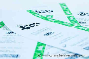 Lottery ticket worth $1 million sold in Vernon – Campbell River Mirror - Campbell River Mirror