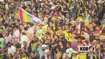 New Mexico United hosts Pride events during home match against Austin Bold FC - KOB