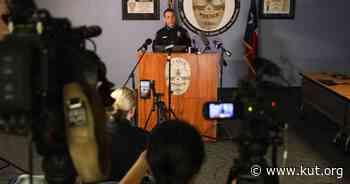 Watch: Austin Police Give Update On Sixth Street Shootings - KUT