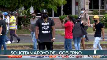 Artistas protestaron en Avenida Balboa, piden acercamiento con el Gobierno - Telemetro