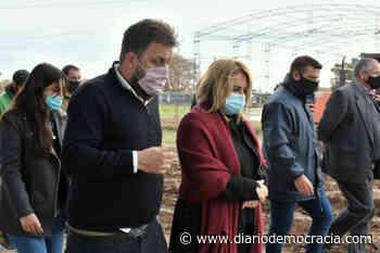 Continúan las obras de infraestructura en las ciudades de General Arenales y Junín - Diario Democracia
