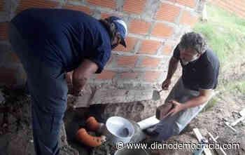 """En el club de tejo """"El Campito"""" de Chaco y Necochea, continúan realizando obras - Diario Democracia"""