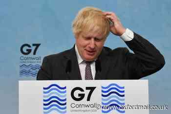 'Oxford team helping us vaccinate the world' Boris Johnson tells G7
