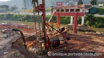Prefeitura de Brusque deve concluir obras da Ponte Santos Dumont em 90 dias - ®Portal da Cidade   Brusque