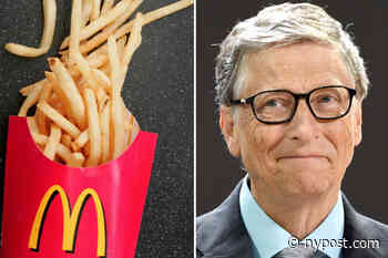 Bill Gates is a potato farmer, hoeing for McDonald's fries - New York Post